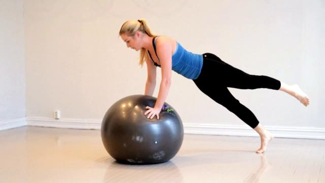 Challenge for the back, side and abbs