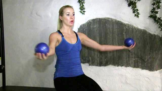 Strengthen my arms with manuals