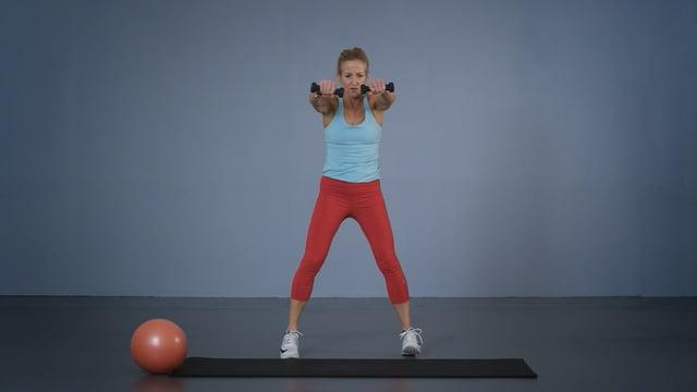 Bodysculpting - trening av hele kroppen med lette vekter.